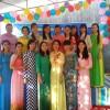 Các cô trong ngày hội đến trường năm học 2016-2017